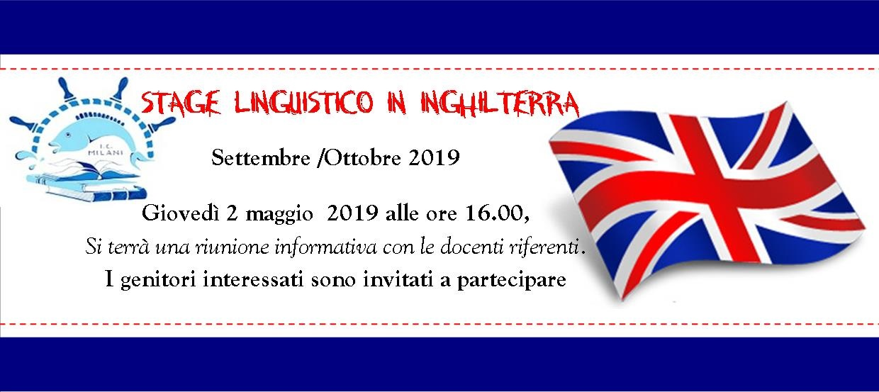 Stage linguistico 2019